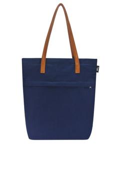 44ffa4d61d24 Ripples blue Trey Utility Canvas Tote Bag 6E8C0ACAB09F6AGS 1