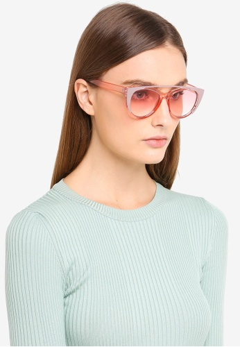 bdec2f3c140 Buy Jeepers Peepers Pink Cat Eye Sunglasses Online on ZALORA Singapore