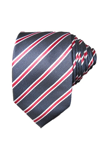 Chase Fashion blue Striped Business Necktie 5A0CCAC7EA2414GS_1
