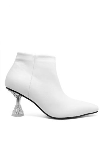 Twenty Eight Shoes 透明踭仿皮踝靴638 ADD7ESH12B9995GS_1