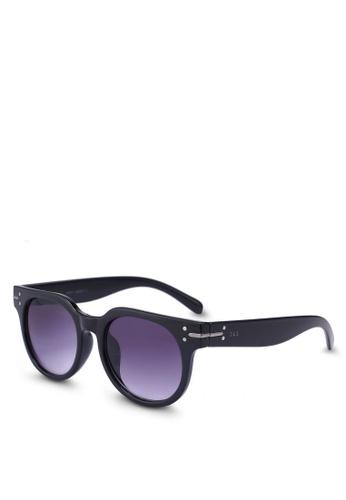 Jack & Jones black Jacharry Sunglasses EFAC4GL4F1BC25GS_1
