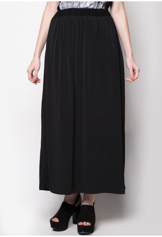 Maxi Skirt with Pleats