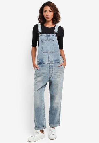 76f08f216900 Calvin Klein blue A-Romper Manchester Jumpsuit - Calvin Klein Jeans  56783AAF3AF1BAGS 1