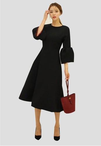 燈籠袖口連esprit outlet 台灣衣裙, 服飾, 洋裝