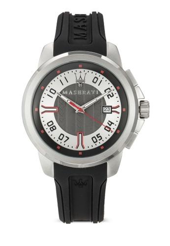 Maserati black Maserati Sfida Men's  Watch R8851123005 MA410AC88UVFMY_1