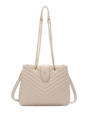 Volkswagen beige Women's Tote Bag / Sling Bag / Shoulder Bag 235F9ACCA5A6EDGS_1