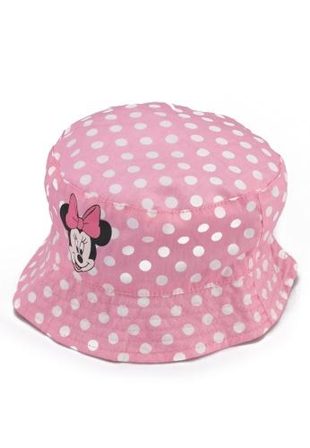 LC Waikiki pink Baby Girl Minnie Mouse Bucket Hat B2105KCB947B29GS_1