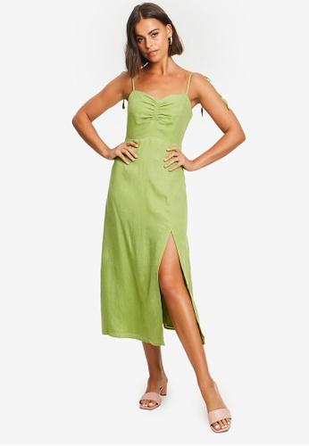 Sável green Venezia Dress 44817AAC605811GS_1