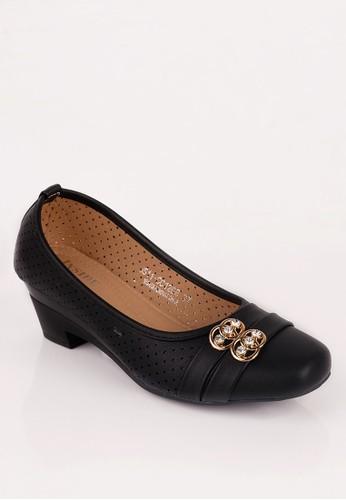 Inside Heels Sutton Black