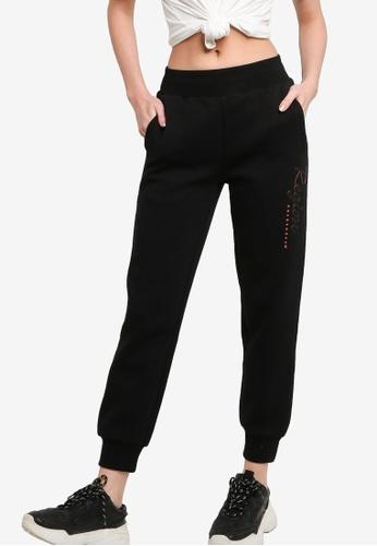 361° black Sports Life Knit Pants 05EC9AA13CC53DGS_1