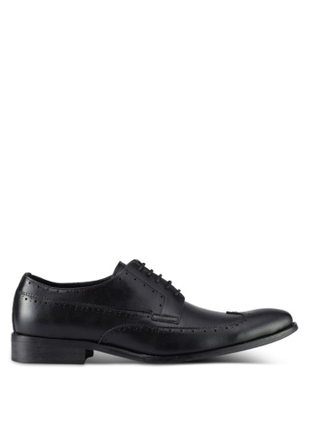 ZALORA black Wingtip Dress Shoes C4E78SH923EC60GS_1