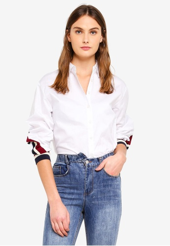 Haute Kelly white Young-Il Shirt 934BAAA1ACDFF2GS_1