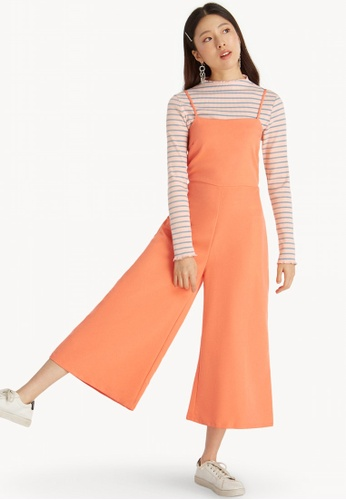 ad2b009ec3 Pomelo orange Cami Wide Leg Jumpsuit - Orange A5987AAF1C82E9GS 1
