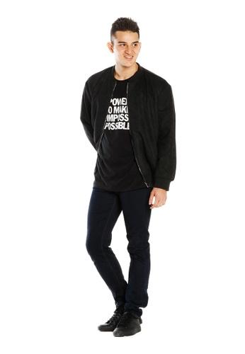 Limkokwing Fashion Club black LionHead Jacket  36173AA85530D5GS_1