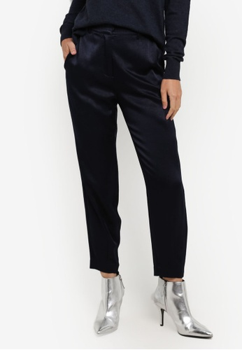 Selected Femme blue SFROMAIN MW PANT SE157AA0S430MY_1