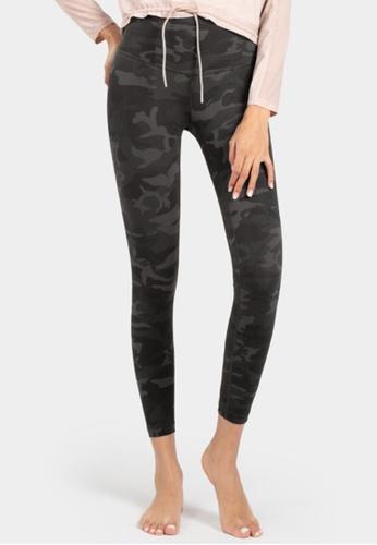 B-Code black ZUU3007B-Lady Quick Drying Running Fitness Yoga Leggings-Black A54B9AA42CA718GS_1