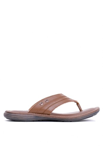 Tony Perotti brown Tony Perotti Sandals Emerson - Brown BF7DDSHB0BED35GS_1