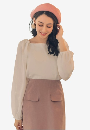 7c77b4a9817eb2 Shop Yoco High Neck Long Sleeve Top Online on ZALORA Philippines