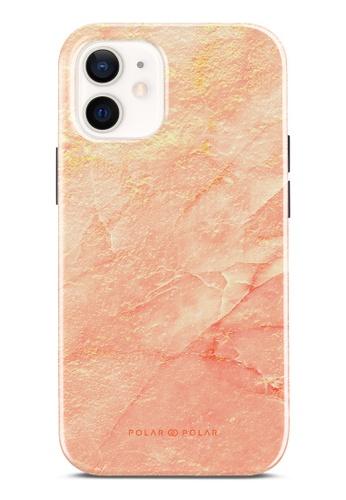 Polar Polar pink Sunset Dual-Layer Tough Case Glossy For iPhone 12 mini E17CCAC3C43164GS_1