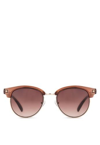 Clark Clubmaster 太陽眼鏡, 飾品配件, 飾品zalora鞋配件