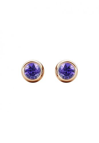 Her Jewellery purple Birth Stone Moon Earring February Amethyst RG - Anting Crystal Swarovski by Her Jewellery DB889ACCA219DEGS_1