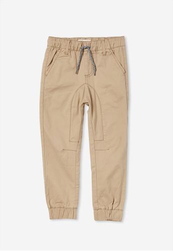 Cotton On Kids grey Logan Cuffed Pant 8C28DKA943A6A1GS_1