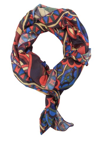 印花絲巾, 飾品配件, 披esprit台灣門市肩