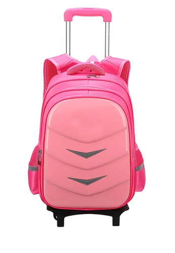 Twenty Eight Shoes pink VANSA Nylon Cart Backpacks VAK-Bp88192 EE4D0KCA4A33BBGS_1