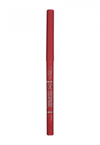 L'Oréal Paris pink L'Oreal Paris Infallible Lip Liner Mauve 80ACABED491301GS_1