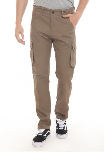 Jual HEMMEH Celana Cargo Panjang Coklat Hemmeh Original