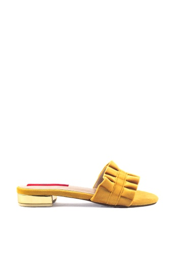 M&G yellow Destiny Flats by M&G A9AE1SH09BE138GS_1