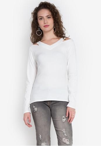 Freego white Ladies Basic Top FR760AA0KCBNPH_1
