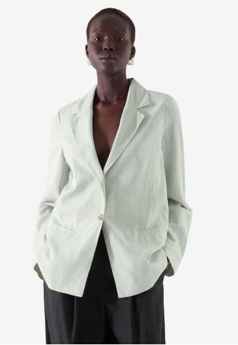 Cos green Tailored Blazer 7536CAA6B88A65GS_1