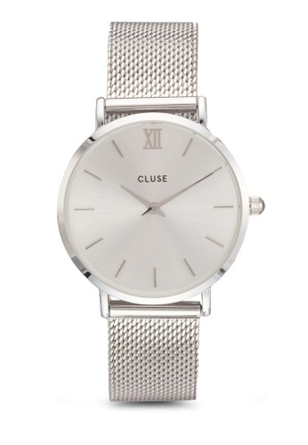 Minuit 網眼圓框手錶,esprit香港門市 錶類, 飾品配件