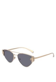 8eea42574644 Versace gold Versace VE2195B Sunglasses 0E360GL530008BGS 1