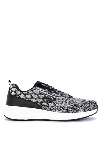 Jump black Keyser Sneakers 6E608SH4B6D256GS_1