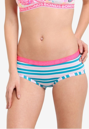 Bonds blue Hipster Boyleg Panties BO376US71ZGEMY_1