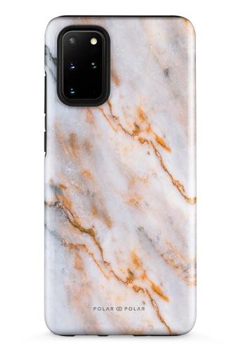 Polar Polar brown Coffee Cream Samsung Galaxy S20 Plus 5G Dual-Layer Protective Phone Case (Glossy) CE0B1ACFAB4115GS_1