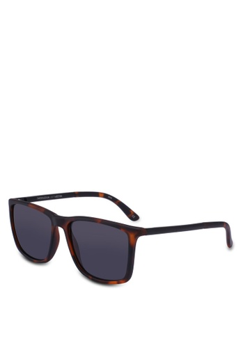 Le Specs brown Tweedledum 1402184 Sunglasses 8ABB9GL44A80F6GS_1