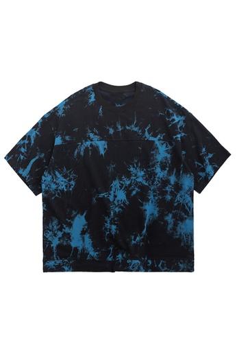 Twenty Eight Shoes Tie-Dyed Oversize T-Shirt 1104S20 07313AA14E4263GS_1