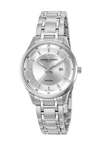 Charles Jourdan silver Charles Jourdan Women CJ1051-2312 Silver Stainless Steel Watch 469DEACA7AB471GS_1