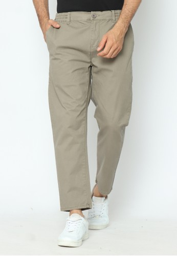 Planet Surf Clothing beige Planet Surf Clothing Ankle Pants Khaki Superfonh 3BC03AA8147ACCGS_1