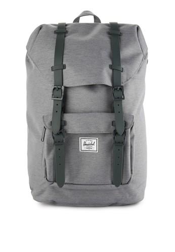 Herschel grey Little America Mid-Volume Backpack 000FCACEC74F22GS_1