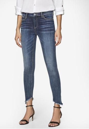 schön billig klar und unverwechselbar preisreduziert Asymmetric Stretch Jeans