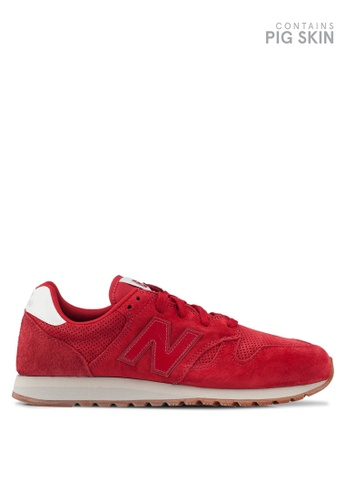 New Balance red 520 Lifestyle Shoes 04F62SHC0747FEGS_1
