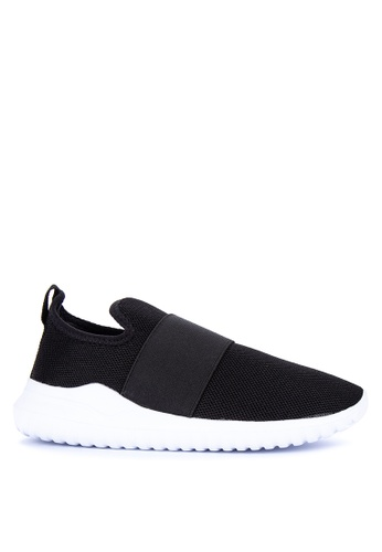 BENCH black Plain Slip On Sneakers E9A02SH0C632A6GS_1