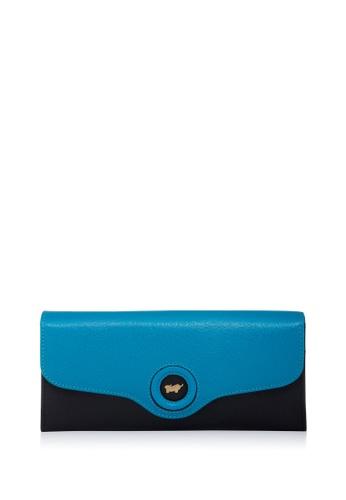 Braun Buffel blue Kelis 2 Fold Long Wallet C985FACB002A31GS_1