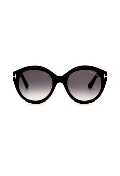352abf9ebbce Tom Ford black TOM FORD FT0661 01B Cat Eye Sunglasses A86E3GL43224FCGS 1