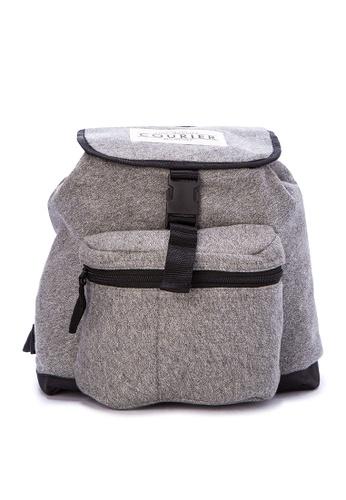Courier Grey Knapsack Bag 82dc1ac4c7d057gs 1