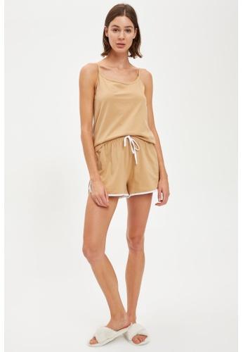 DeFacto beige Woman Homewear Knitted Bottoms 5F4EFAA069E97AGS_1
